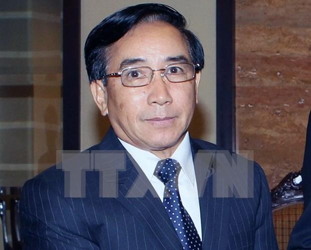 Vicepresidente de Laos inicia visita a Vietnam hinh anh 1