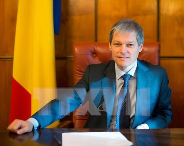 Primer ministro de Rumania inicia visita oficial a Vietnam hinh anh 1