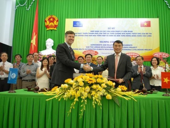 Creditos de BM para desarrollo urbano de Delta del Mekong hinh anh 1