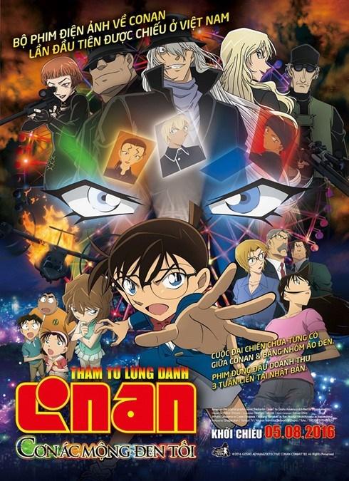 Estrenan pelicula de detective Conan en Vietnam en agosto hinh anh 1