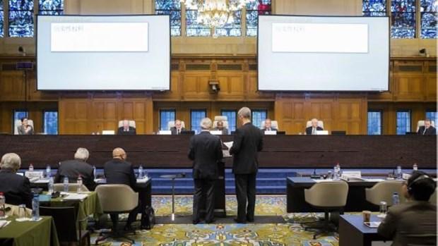 Tribunal de La Haya: China no tiene ningun derecho historico sobre el Mar del Este hinh anh 1