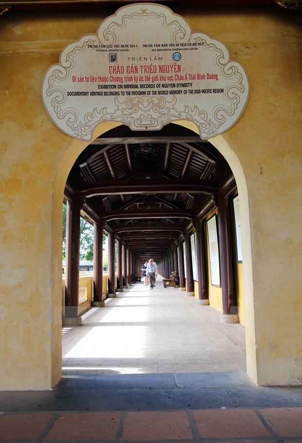 Ciudadela imperial de Hue: Valores preservados y promovidos hinh anh 5