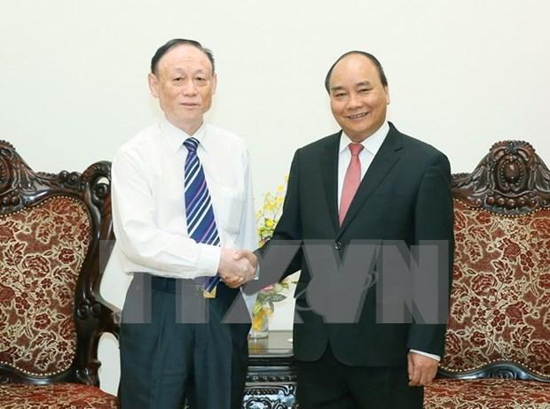 Premier de Vietnam valora proyecto chino de produccion de paneles solares hinh anh 1