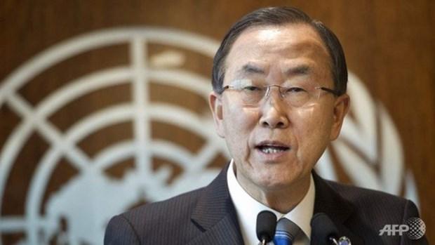 Ban Ki-moon llama a partes concernientes en Mar del Este a respetar leyes globales hinh anh 1