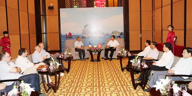 Desea Quang Ninh establecer relaciones multifaceticas con localidades rumanas hinh anh 1