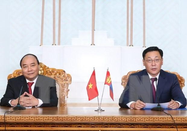 Vietnam y Mongolia acuerdan medidas para impulsar nexos comerciales hinh anh 1