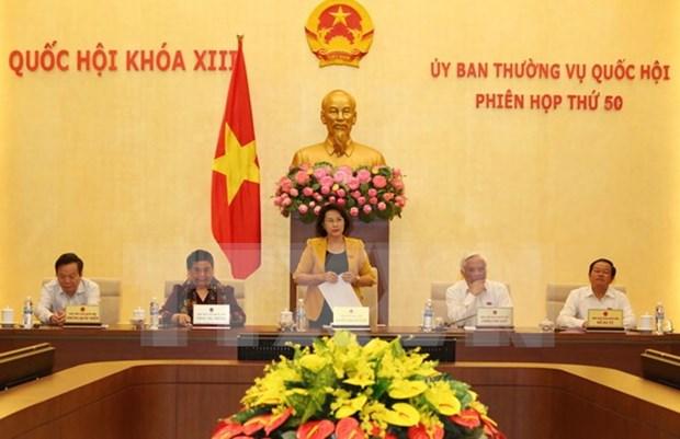 Comite Permanente del Parlamento vietnamita debate sobre labores de supervision hinh anh 1