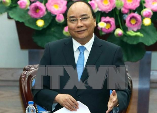 Primer ministro de Vietnam parte de Hanoi a Mongolia para ASEM 11 hinh anh 1