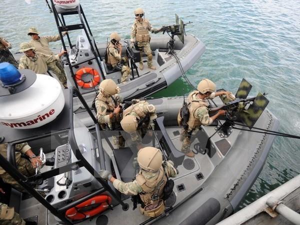 Indonesia intensifica seguridad en islas Natuna hinh anh 1