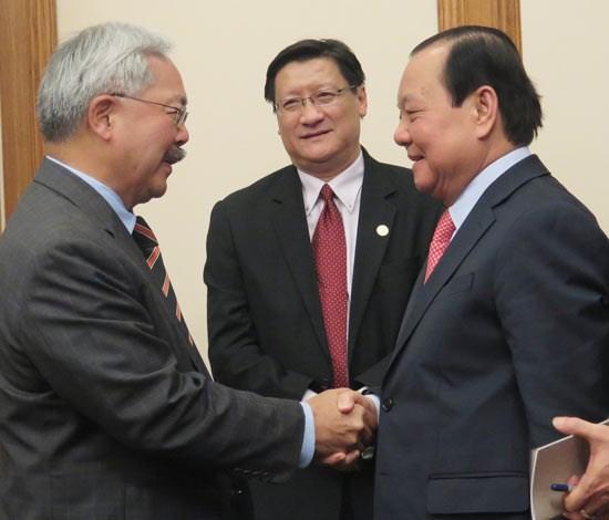 Ciudad Ho Chi Minh y San Francisco promueven cooperacion en inversion hinh anh 1