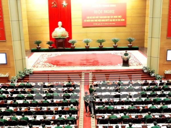 Comision Militar Central debate programa de accion hinh anh 1