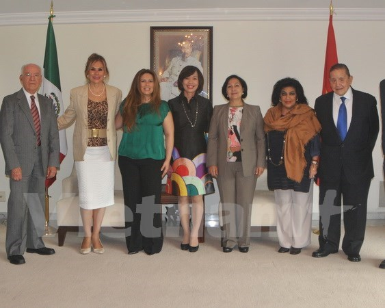 Vietnam y Mexico robustecen cooperacion de amistad hinh anh 1
