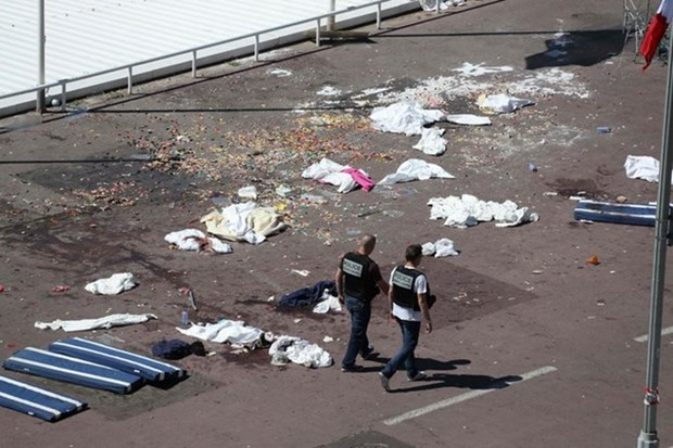 Lideres de Asia y Europa condenan atentado en Niza hinh anh 1
