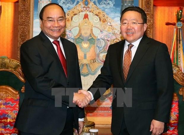 Destacan significado de visita de premier vietnamita a Mongolia y asistencia a ASEM hinh anh 1