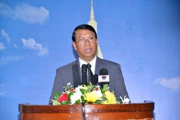 Laos respalda solucion pacifica de asunto del Mar del Este hinh anh 1