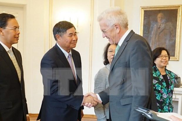 Estado aleman cree en perspectivas para la cooperacion con la ASEAN hinh anh 1