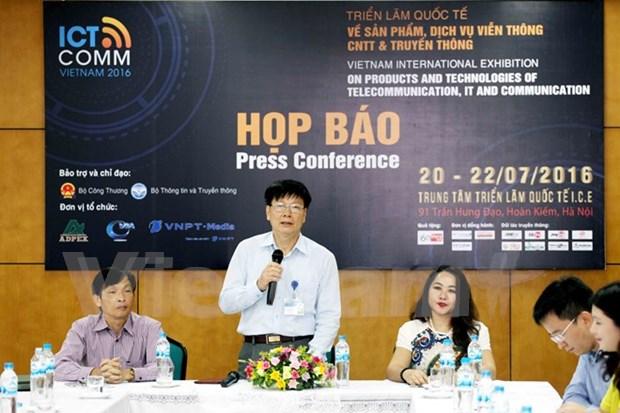 Hanoi acogera exposicion de tecnologia de la informacion y comunicacion hinh anh 1