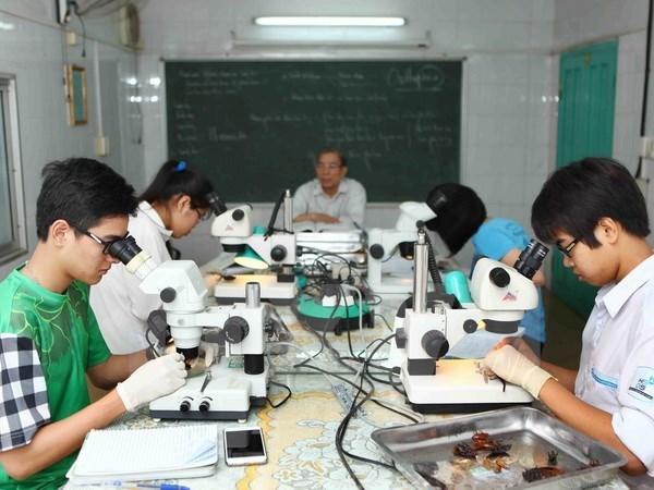 Olimpiada internacional de Biologia se efectua en Vietnam hinh anh 1