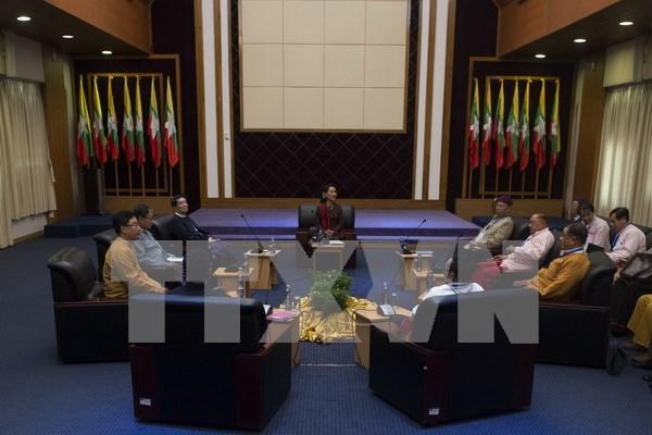 Myanmar: grupos armados seguiran en negociacion para un alto al fuego hinh anh 1