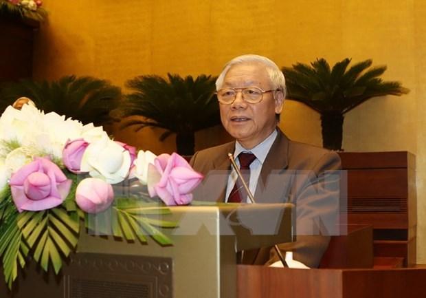 Lider partidista de Vietnam: Exito de elecciones generales patentiza unidad nacional hinh anh 1