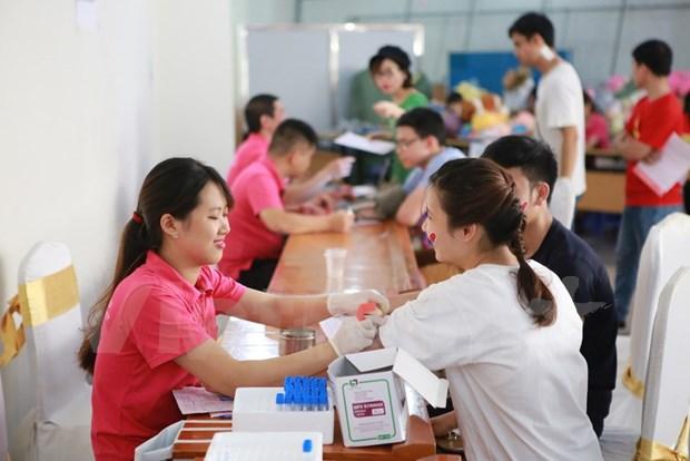 Estimulan en Vietnam participacion popular en donacion de sangre hinh anh 1