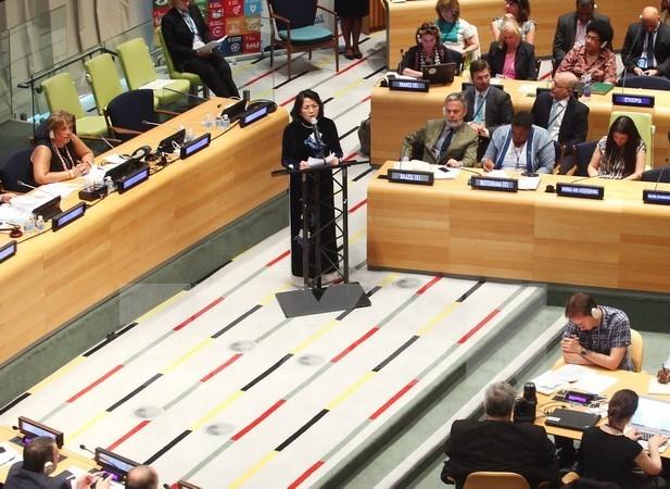 Vietnam reafirma compromiso hacia el desarrollo sostenible hinh anh 1