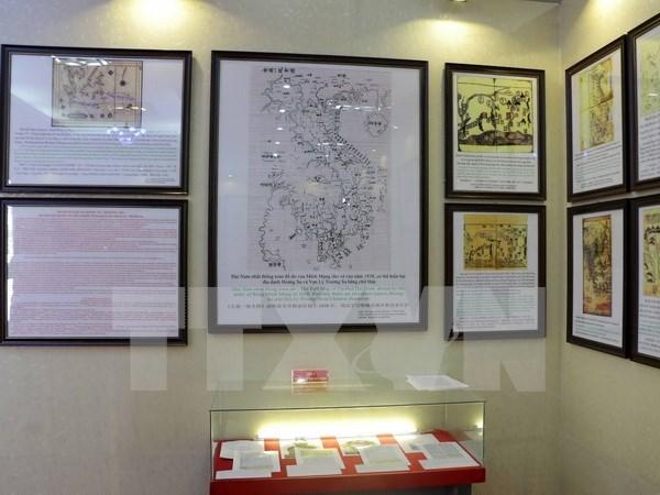 Abierta al publico exhibicion de testimonios historicos de islas vietnamitas hinh anh 1