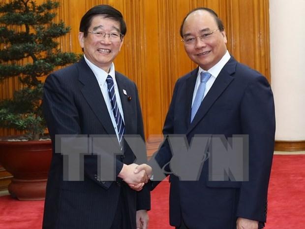 Premier de Vietnam saluda propuesta japonesa sobre cooperacion tecnologica hinh anh 1
