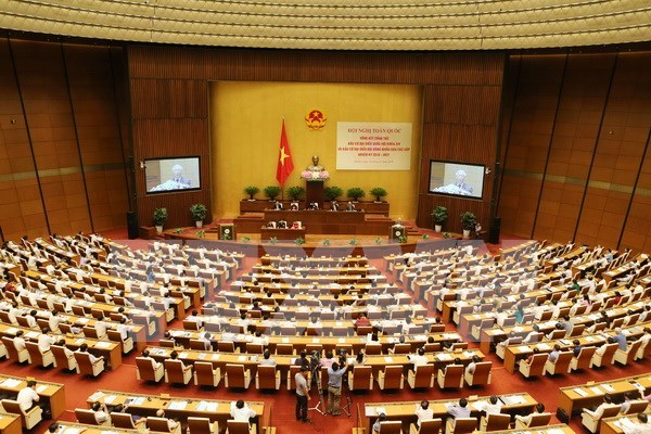 Parlamento de XIV legislatura inicia primer periodo de sesiones hinh anh 1