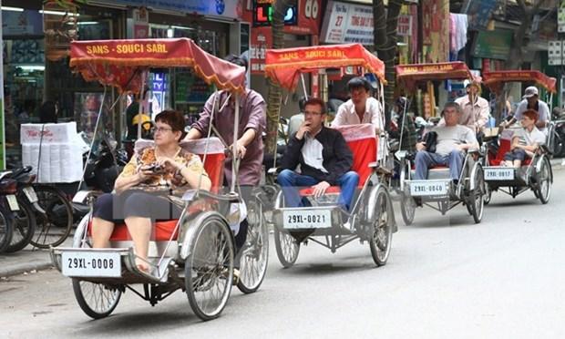 Aumentan visitantes extranjeros en Hanoi en el primer semestre de 2016 hinh anh 1