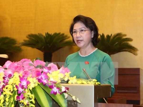 Presentan candidatos a cargos de liderazgo en Asamblea Nacional de Vietnam hinh anh 1