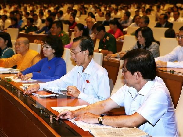 Parlamentarios vietnamitas preocupados por deuda publica y presupuesto hinh anh 1