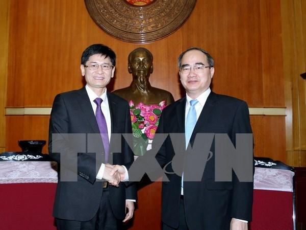 Vietnam y China intensifican la cooperacion entre sus localidades hinh anh 1