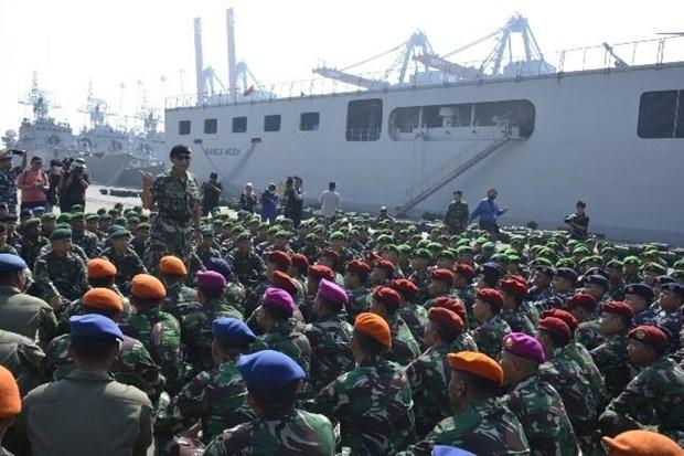 Indonesia y Malasia realizan ejercicio militar conjunto hinh anh 1