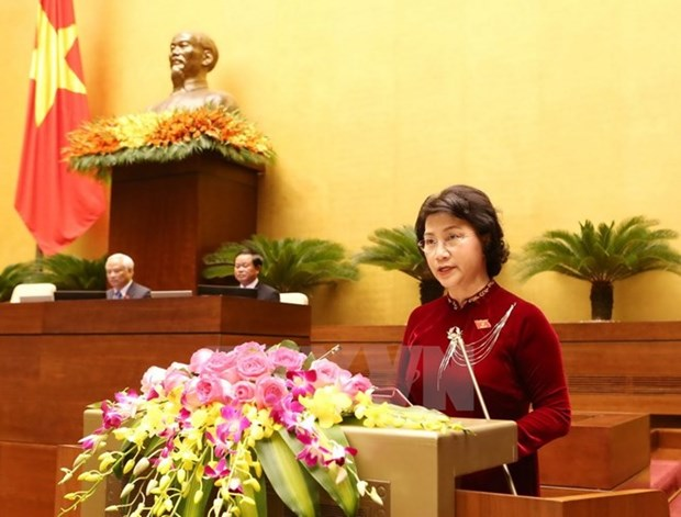 Biografia de la presidenta de Asamblea Nacional hinh anh 1