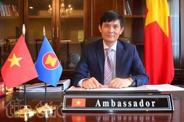 Asiste Vietnam a la reunion de Comision de ASEAN hinh anh 1