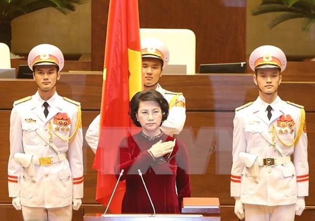 Esperanza de diputados vietnamitas en reforma de actividades del Parlamento hinh anh 1