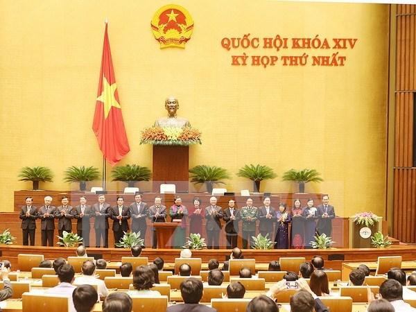 Presentan candidatos a organismos del Parlamento e inspeccion estatal de Vietnam hinh anh 1