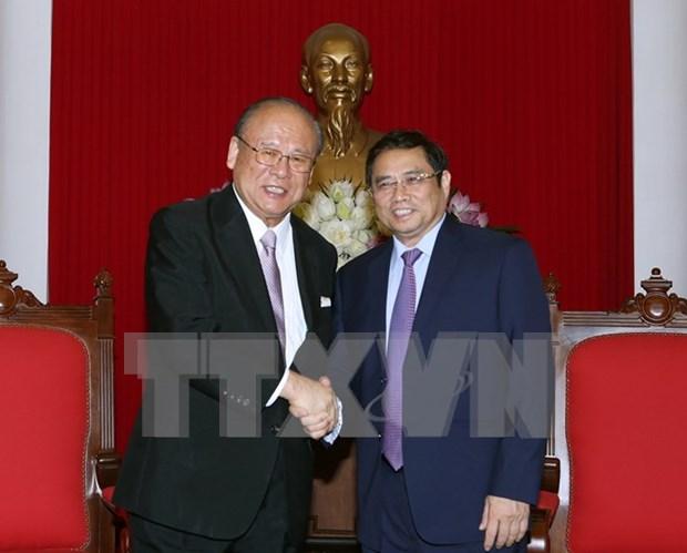Enriquecen los vinculos de amistad entre Vietnam y Japon hinh anh 1