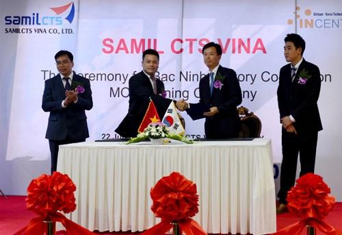 Vietnam y Sudcorea firman memorando de cooperacion en medicion hinh anh 1