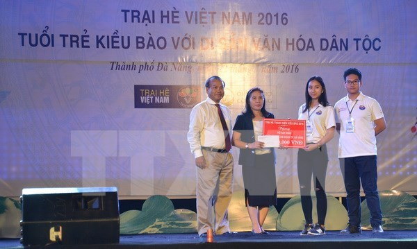 Clausuran Campamento Veraniego de Vietnam 2016 en Da Nang hinh anh 1
