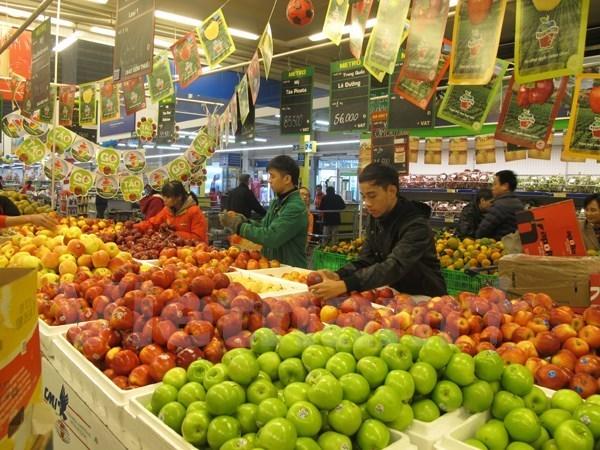 Leve aumento de IPC de Vietnam en julio hinh anh 1