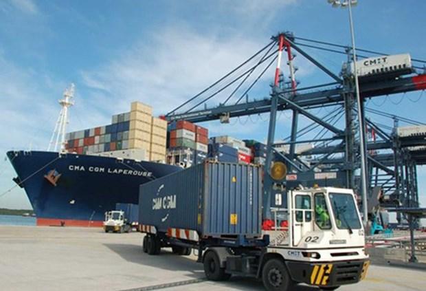 Exportaciones e importaciones de Vietnam suman 177 mil millones USD hasta julio hinh anh 1