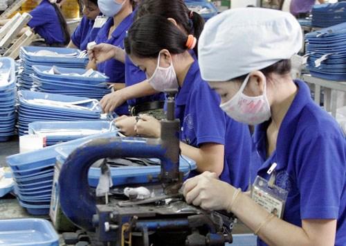 Indice de produccion industrial de Hanoi aumenta siete por ciento hinh anh 1