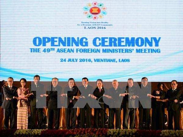 Cancilleres de ASEAN expresan profunda preocupacion ante asunto del Mar del Este hinh anh 1