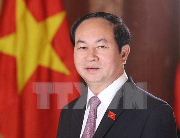 Diputados vietnamitas confian en reelegido presidente del pais hinh anh 1
