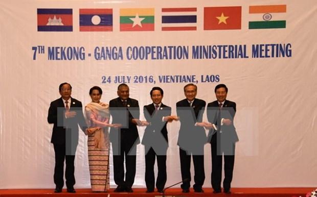 Paises de Mekong y la India fomentan cooperacion hinh anh 1