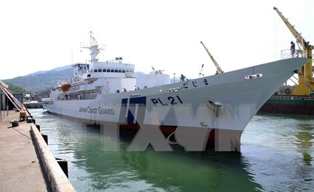 Visita buque escuela japones Da Nang hinh anh 1