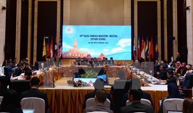 Cancilleres de ASEAN y paises socios debaten medidas de cooperacion hinh anh 1
