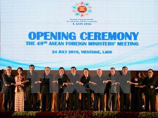 ASEAN fomenta cooperacion con socios hinh anh 1